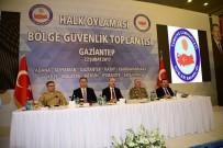 İL EMNİYET MÜDÜRLERİ - Vali Toprak, Halkoylaması Bölge Güvenlik Toplantısı'na Katıldı