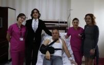 8 Yıldır Şikayet Ettiği Hastalıktan Artroskopik Yöntemle Kurtuldu