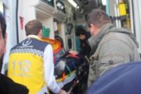HALK OTOBÜSÜ - Ağrı'da Trafik Kazası Açıklaması 1 Yaralı