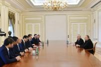İSLAM İŞBİRLİĞİ TEŞKİLATI - Aliyev, Bakan Çelik'i Kabul Etti