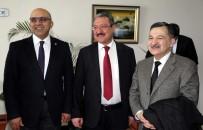 TIP ÖĞRENCİSİ - Azerbaycan Milletvekili Mirzezade Rektör Güven'i Ziyaret Etti