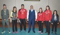 AVRUPA ŞAMPIYONASı - Başkan Can, Şampiyon Sporcuları Ödüllendirdi