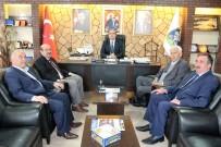 KOCABAŞ - Başkan Konak, Sandıklı'da Çeşitli Ziyaretlerde Bulundu
