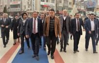 BİLGİ EVLERİ - Başkan Toltar, Ağrı Valisi Işın'ı Ağırladı