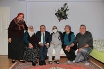 SAĞLIĞI MERKEZİ - Bolu Belediye Başkanı Yılmaz 7 Aileye Ziyaret Etti
