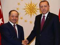 SINIR GÜVENLİĞİ - Erdoğan ile Barzani pazar günü bir araya gelecek