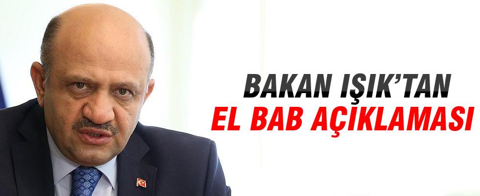 Bakan Fikri Işık: El Bab'ın tamamına yakını kontrol altında