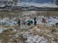 ZAP SUYU - Hakkari Belediyesinden Çevre Temizliği