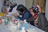 YOZGAT - Hem Sanat Öğreniyor Hem De Ev Ekonomilerine Katkı Sağlıyorlar