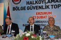İL EMNİYET MÜDÜRLERİ - İçişleri Bakanı 8 İlin Valileriyle Bir Araya Geldi