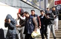 KAHVEHANE - Kahvehaneye Saldıran Şehir Magandaları Adliyeye Sevk Edildi