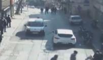 Kahvehaneye saldıran şehir magandaları kamerada