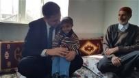 LÖSEMİ HASTASI - Kaymakam Sağ'dan Lösemi Hastası Muhammed Atilla'nın Ailesine Ziyaret