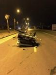 DİREKSİYON - Kontrolden Çıkan Otomobil Takla Attı Açıklaması 5 Yaralı