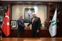 SENFONI - Küba Büyükelçisi Casals, Başkan Ataç'ı Ziyaret Etti