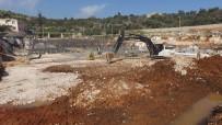 KARGıPıNARı - Limonlu-Kumkuyu Atıksu Arıtma Tesisi İnşaat Çalışmaları Devam Ediyor
