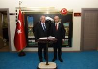 ŞANLIURFA VALİSİ - Şanlıurfa Valisi Güngör Azim Tuna'dan Vali Demirtaş'a Ziyaret