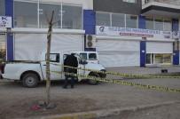 GÜVENLİK KAMERASI - Siverek'te Elektrik Dağıtım Şirketi Müdürlüğüne Silahlı Saldırı