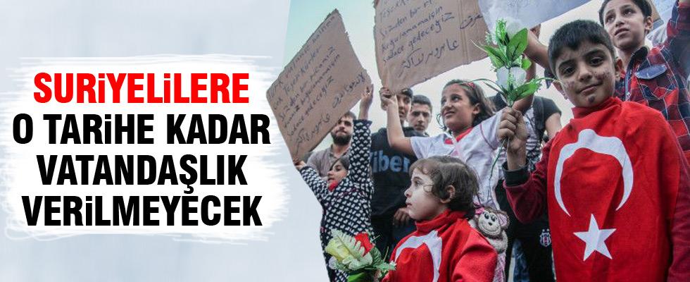 Suriyelilere verilecek vatandaşlık hakkı ile ilgili sıcak gelişme