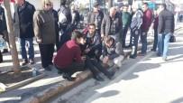 ELEKTRİKLİ BİSİKLET - Ters Yönde Giderken Yayaya Çarptı