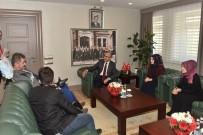 MAHMUT DEMIRTAŞ - ALS Hastası Yasin Asma Ve Çocuklarından Vali Demirtaş'a Ziyaret
