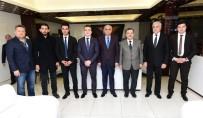 MILLETVEKILI - Azerbaycan Milletvekili Mirzezade, Battalgazi Belediyesini Ziyaret Etti
