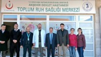 Başkan Akkaya'dan Toplum Ruh Sağlığı Merkezi'ne Ziyaret