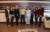 CEVIZLI - Başkan Altınok Öz'e Kartal Gönüllüleri Platformundan Ziyaret