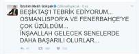 AVRUPA - Başkan Gökçek, Beşiktaş'ı Kutladı