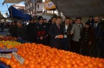 YAYLABAŞı - Başkan Hasan Tahsin Usta Mahalle Pazarını Denetledi