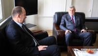 YEREL YÖNETİMLER - Başkan Karaosmanoğlu'ndan, Başiskele Kaymakamı'na Ziyaret