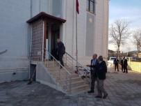 MEHMET KELEŞ - Başkan Keleş, Azmimilli Camisinde İncelemelerde Bulundu