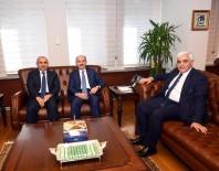 HILMI DÜLGER - Çalışma Ve Sosyal Güvenlik Bakanı Mehmet Müezzinoğlu'na Ziyaret