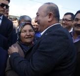 MEVLÜT ÇAVUŞOĞLU - Dışişleri Bakanı Çavuşoğlu'ndan Antalya'da Esnaf Ziyareti