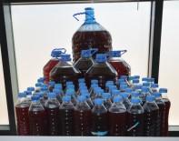 MUSTAFAPAŞA - Elazığ'da Su Şişelerinde Kaçak Şarap Ele Geçirildi