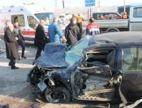 AKÇAKIRAZ - Elazığ'da Zincirleme Kaza Açıklaması 4 Yaralı
