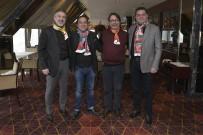 ALSANCAK - Göztepe Ve Karşıyaka Başkanları Bir Araya Geldi