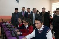 İLÇE MİLLİ EĞİTİM MÜDÜRÜ - Gürpınar Anadolu Lisesine Bilgisayar Desteği