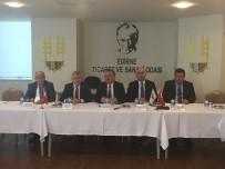 GÜNAY ÖZDEMIR - Hizmet Sektörü Temsilcileri ETSO'da Buluştu