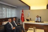 İL MİLLİ EĞİTİM MÜDÜRÜ - MEB İnşaat Ve Emlak Dairesi Başkanı Özcan Duman Kayseri'de İncelemelerde Bulundu