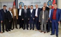 DİYARBAKIR - Muhtarlardan Başkan Atilla'ya Ziyaret