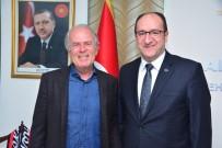 ESKIŞEHIRSPOR - Mustafa Denizli'den Başkan Ünlü'ye Ziyaret