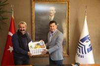 İSMAIL ALTıNDAĞ - Ovacık Belediye Başkanı Maçoğlu'ndan Başkan Kocadon'a Ziyaret