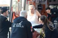 PORSUK - Porsuk Çayı'na Düşen Yaşlı Adamı Vatandaşlar Kurtardı