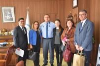 İL MİLLİ EĞİTİM MÜDÜRÜ - Resim Yarışması Türkiye İkincisi Melek'ten Müdür Koca'ya Ziyaret