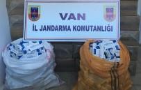 KAÇAK SİGARA - Van'da 156 Bin Paket Kaçak Sigara Ele Geçirildi.