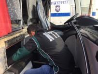 İNCIRLIK - Yolcu Otobüsünden 108 Kilo Eroin Çıktı
