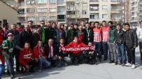 SPOR TOTO - Akhisar Belediyespor İle Antalyaspor Taraftarlarından Örnek Davranış