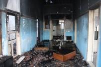 Amasya'daki Yangının İzleri Gün Aydınlanınca Ortaya Çıktı