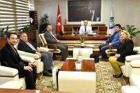 BAŞSAĞLIĞI - Başkan Kayda Birlik Başkanı Sağlam'ı Ağırladı